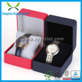 Kundenspezifischer heißer Verkaufs-hölzerner Uhr-Kasten mit Baumwoleinlage