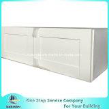 米国式の食器棚の白いシェーカーW3612