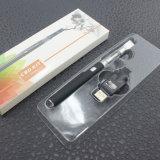 El tanque de cristal del cigarrillo de Cbd del petróleo de la bobina de cerámica electrónica disponible del kit