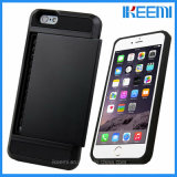 iPhoneのためのOEMパターン美しい可動装置かセル札入れのFilpプリント電話カバーケース