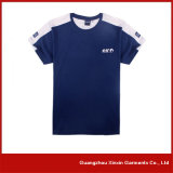 OEM 공장 t-셔츠 제작자 (R28)를 인쇄하는 진한 파란색 실크 스크린