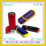 Amostra grátis Alta qualidade 1/2/4 / 8GB USB de plástico (GC-P394)