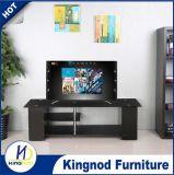 Tabella di legno popolare poco costosa di vetro TV del MDF