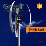 Vawt! turbina di vento verticale di asse 2kw con a bassa velocità