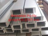 Extrusion de profilé en aluminium de finition de moulin pour porte de fenêtre industrielle