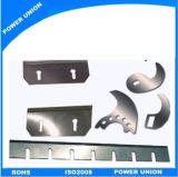 Customzied SKD11 cuchillas cizalla para el cuero y plástico