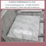 Volakasの卸し売り白い大理石のタイルの白い磨かれた大理石の床