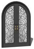 Entrada de porta de aço Tipo de portas Tipo de venda quente de portas de segurança de ferro
