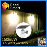 Luz solar integrada do jardim da rua solar ao ar livre com sensor de movimento
