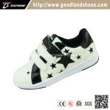 PU с пятью Star дешевые скейт обувь детей16010-1 QR (ИКО)