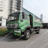 China Nuevo Río Amarillo Sinotruk 4X2 15 Ton Camión volquete