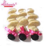 Cabelo do Malaysian do cabelo humano 8A do Blonde 100% de Ombre