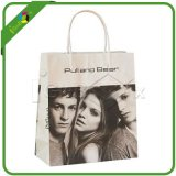 Modo Printed Paper Shopping Bag con Handle per Packaging
