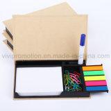Bloc de notas de papel Kraft con pasadores para el trabajo de oficina (GN007)