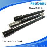 Extensão Rod da broca de rocha R32/R38/T38/T45