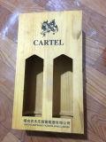 Горячим коробка сбывания напечатанная цветом деревянная с шарниром от Китая
