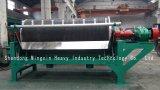Remoção de minerais magnéticos fortes de minerais não magnéticos por separador magnético de tambor magnético permanente