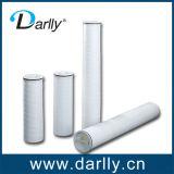 Haut débit de filtration de l'eau PP Cartouche de filtre plissé