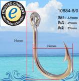 Crochet de pêche en acier inoxydable 10884