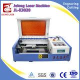 Mini 3020 2030 macchine della marcatura del timbro di gomma, macchina per incidere del laser con il migliore prezzo