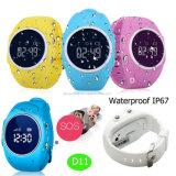 Ios/Android étanche de podomètre Kids/Enfant Tracker GPS Watch pour cadeau D11
