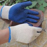 Il lattice ha tuffato il guanto del lavoro del grado di economia di sicurezza dei guanti della palma
