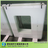 Range HoodまたはCooker Hoodのための4mm/5mm/6mm White Tempered Clear Float Glass Panel