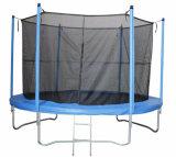 Trampolín grande azul de Jumpking del resorte grande / trampolín de 14 pies