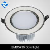 L'aluminium LED 3W Downlight encastré