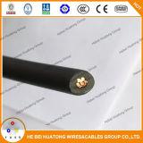 Фотовольтайческий кабель, солнечный кабель, кабель PV1f PV при перечисленный UL