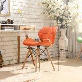 Вычура самомоднейшей конструкции цветастая кожаный обедая мебель венчания стула