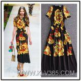 Способа женщин Китая одежда платья партии оптового ультрамодная длинняя