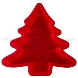 Moulage de gâteau de silicones d'arbre de Noël (RS36)
