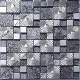La couleur grise Wall Tile Mosaïque de verre