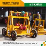 Prix de machine de fabrication de brique de la colle de Qt40-3b