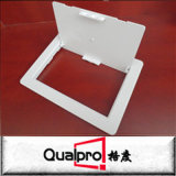 Reines weißes Plastikzugangsklappe Belüftung-Material AP7611