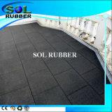 Alta flexibilidad Antideslizante de goma al aire libre alfombra del piso