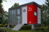 Prefab дом контейнера Foldinng стальной для жить