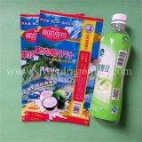 O PVC/Pet manga retráctil para garrafa de sumo