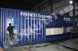 Pianta messa in recipienti industriale del blocco di ghiaccio