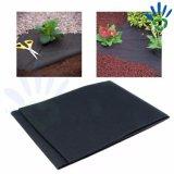 PP Spunbond 비 길쌈된 까만 뿌리 덮개를 하는 필름 또는 잡초 방제 직물 또는 까만 부직포