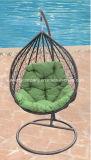 Silla colgante del oscilación del huevo del patio al aire libre popular