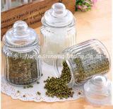 Опарник бутылочного стекла хранения стеклоизделия кухни