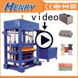 機械、販売のためのカラーペーバーの煉瓦機械を作るQtj4-30ディーゼル機関のコンクリートブロック