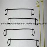 El hierro de la construcción de la alta calidad cortó el alambre destemplado negro del lazo de /Loop del lazo del atascamiento