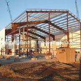 Structure préfabriquée en acier préfabriqué pour entrepôt / atelier (DG3-002)