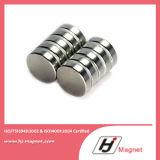 De permanente Gesinterde Magneet van NdFeB van het Borium van de Schijf van het Ijzer van het Neodymium van de Zeldzame aarde