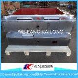 Linha de molde caixa da carcaça da elevada precisão de molde usada para a fundição