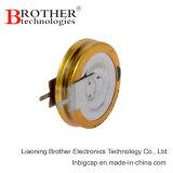 Застегните тип конденсатор v -40c ~70c 5.5V 1.5f супер