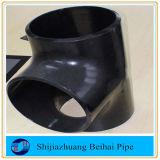 A234 Wpbの炭素鋼の管付属品の継ぎ目が無いティーSch40 ASME B16.9